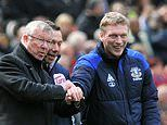 David Moyes reveals Sir Alex Ferguson texted him to praise the work he is doing at West Ham