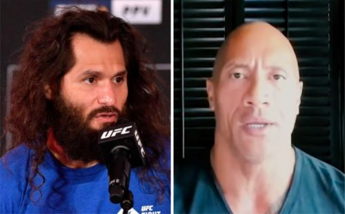 Dwayne 'The Rock' Johnson gives Jorge Masvidal advice on how to beat Kamaru Usman at UFC 251