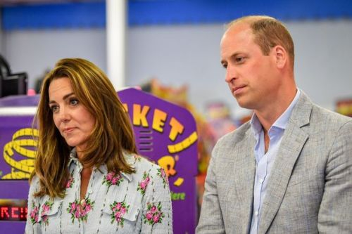 Kate Middleton and Prince William hit the Gavin & Stacey Barry Island arcade