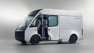UK-based Arrival reveals electric panel van with modular battery system
