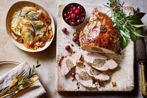 Waitrose unveil Christmas food range and it includes a show-stopping dessert