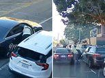 Brazen smash-and-grab thieves in San Francisco break car windows, steal bags from cars