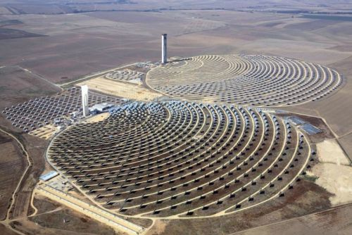 New material could up efficiency of concentrated solar power