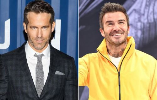 Ryan Reynolds' Cheeky Birthday Gift For David Beckham Couldn't Have Been More On Brand