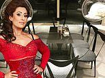 Inside Saira Khan's home: Dancing On Ice star's London family pad boasts a brimming bar of booze