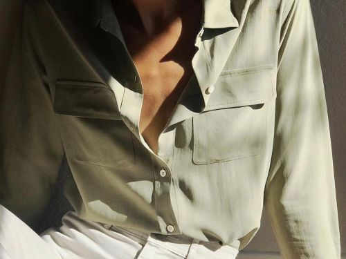 4 women wore and washed Everlane's new 'washable silk' shirts - here's how the tops held up
