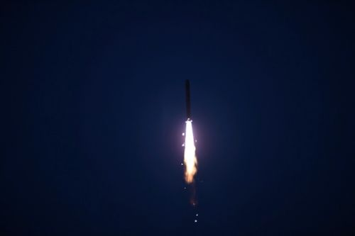 China's Long March 2D rocket launches five satellites