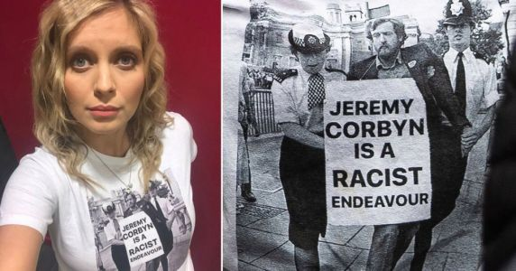 Rachel Riley hit with calls to be sacked as Jeremy Corbyn T-shirt backlash continues