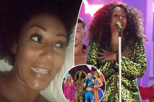 Mel B admits 'vocals and sound' weren't good enough at debut Spice Girls gig which left fans sobbing