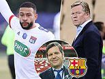 Barcelona 'begin talks to sign Lyon captain Memphis Depay on a free transfer in the summer'
