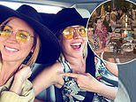 Brittany Snow throws a 'Pitch Perfect' bachelorette party with costars Anna Kendrick andAnna Camp