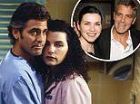 Juliana Margulies says her and George Clooney ER characters' chemistry was fueled by real crushes