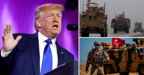 Trump pulls out remaining US troops from northern Syria amid Turkish assault