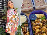Watch the viral TikTok video of Adelaide nurse Louana Waldhuter's meal prepping routine