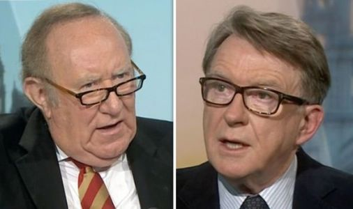 Remainer Lord Mandelson reveals biggest regret over Brexit on BBC's Andrew Neil
