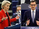 Polish PM lashes out at Ursula von der Leyen after she vowed to punish his country