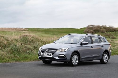 MG5 EV SW review - Electric estate car is Mighty Good