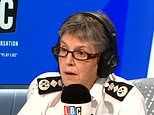 Met Police chief Cressida Dick hits back at Trump's comments on London's knife crime