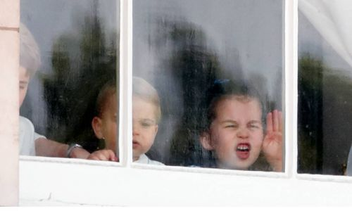 Prince George, Princess Charlotte and Prince Louis shocked by their dad's actions over the weekend