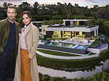 Inside the Beckham family's £20m rental in Beverly Hills - with its own cinema, infinity pool and secret Zen garden