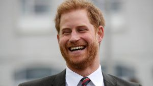Prince Harry made this sweet joke after meeting Prince George for the first time