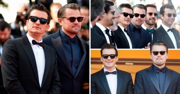 Leonardo DiCaprio switches Cannes date from Brad Pitt to Orlando Bloom for And We Go Green premiere