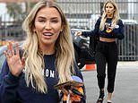 Kaitlyn Bristowe does not let her ankle injury slow her down as she heads to DWTS