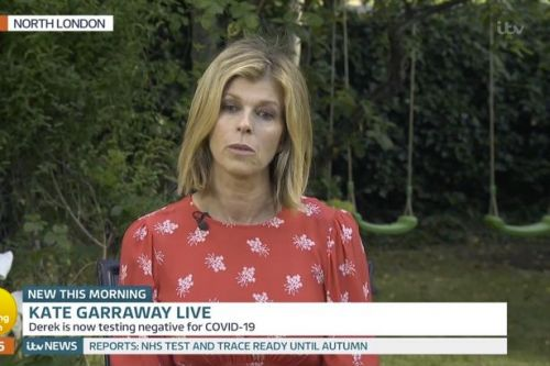 Kate Garraway returns to GMB admitting husband may never recover after Covid-19
