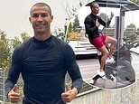 Cristiano Ronaldo debuts new buzzcut in quarantine. after footballer tested positive for COVID-19