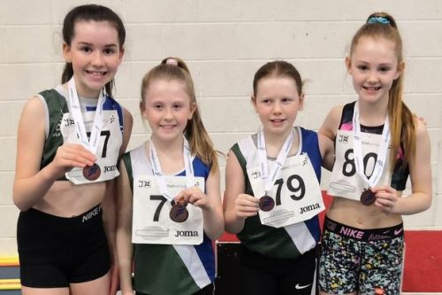Hamilton and District athletes take Scottish National Championships medals