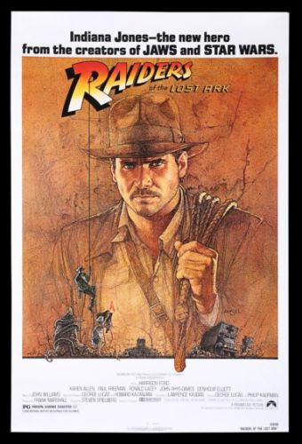 Classic film posters from Star Wars to Raiders of the Lost Ark go under the hammer