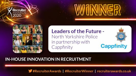 "National recognition for Team Talent for innovative ""Leaders of the Future"" recruitment campaign"