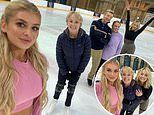 Love Island's Liberty Poole preps for Dancing On Ice with Sally Dynevor and Kimberly Wyatt