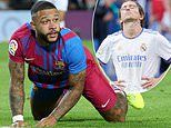 Barcelona remain in crisis and Real Madrid are on the brink of a defensive NIGHTMARE