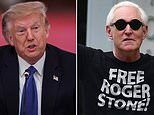 Donald Trump defends commuting Roger Stone's prison sentence with angry attack on his 'deep state'