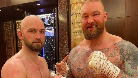 'I feel like the giant slayer': Steven Ward reacts to Thor Bjornsson fight as Belfast boxer admits fear he would be 'squashed' by Game of Thrones star