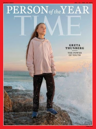 Greta Thunberg wins Time Magazine person of the year 2019 for climate change activism