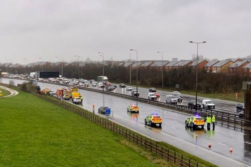 M60 crash: Two boys, 6 and 10, seriously injured in motorway horror smash