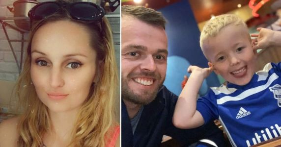 Stepmum 'ate McDonald's as boy slept in hallway in days before she killed him'