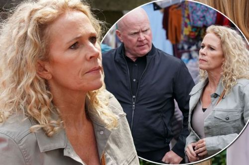 EastEnders' Lisa Fowler and Phil Mitchell come face-to-face in first look pictures