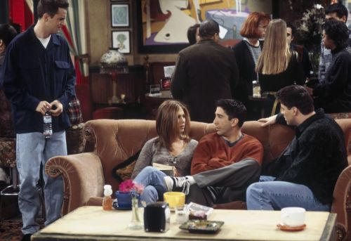 You can now sit on the couch from Friends