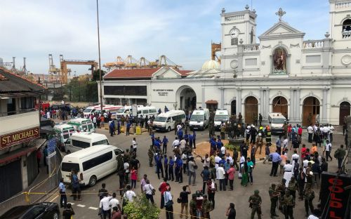 Sri Lanka explosions: Casualties after churches and hotels targeted on Easter Sunday