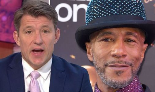 Ben Shephard cuts off Danny John Jules as he arrives late to Good Morning Britain chat