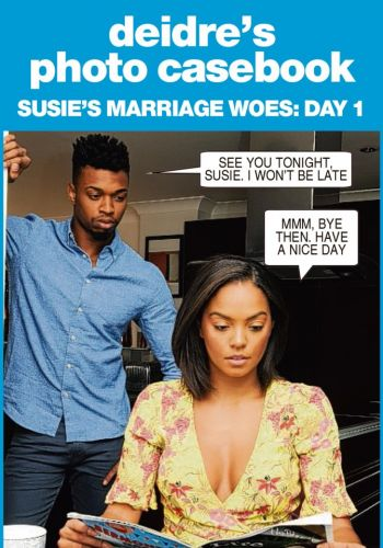 Susie feels that she and husband Jimmy have become more like siblings - Deidre's photo casebook