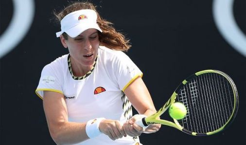 Johnanna Konta suffers Australian Open first-round exit as British hopes dashed
