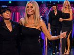 Strictly Come Dancing: Tess Daly puts on a leggy display in thigh-split gown