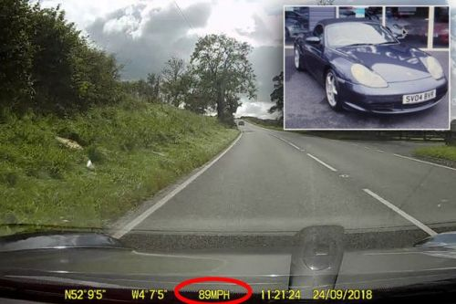 Porsche owner picks up car from garage and discovers employee took it for spin at 89MPH