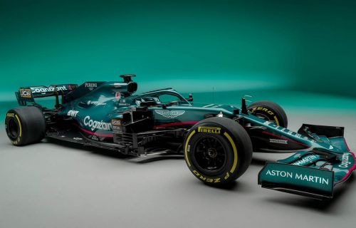 All the angles of the new Aston Martin AMR21
