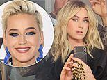 Katy Perry trades out her longtime pixie cut for glamorous shoulder-length golden locks