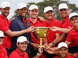 Team USA come from behind to win Presidents Cup after dominating in the singles on the final day